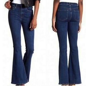 Free People Cyndi high rise flare jeans